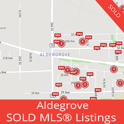 houses sold in aldegrove