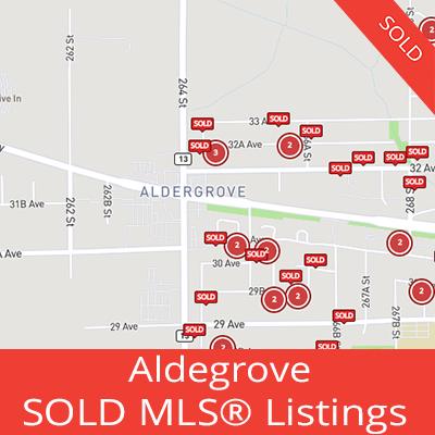 houses sold in aldegrove