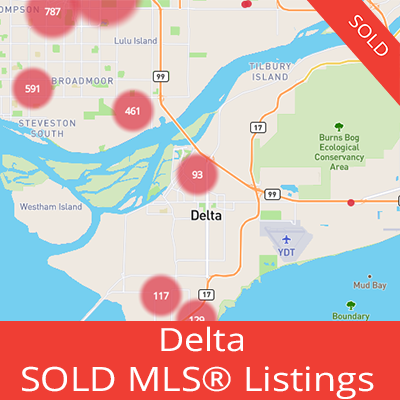 houses sold in delta