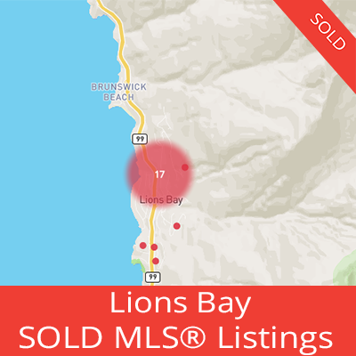 houses sold in lions bay