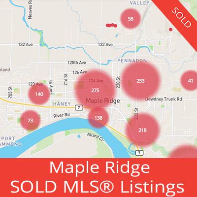 houses sold in maple ridge