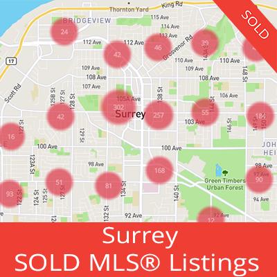 houses sold in surrey